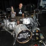 Sound check with Tracy Broussard before the Blake Shelton show-Beier 1.5 Steel--6.5 x 14...